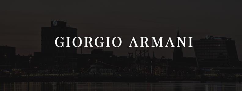Giorgio Armani Uhr, Parfum & Outfits: Einzigartige Eleganz