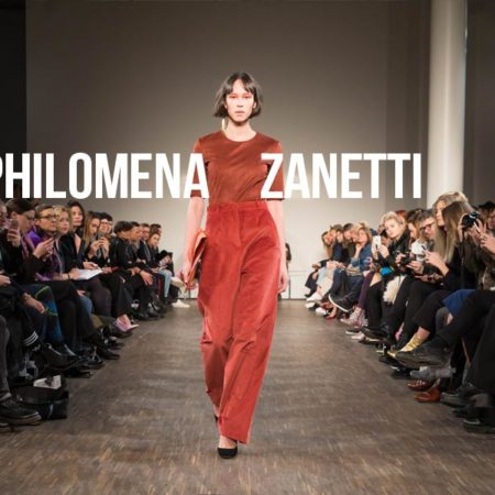 Philomena Zanetti Mercedes Benz Fashion Week Berlin 2017 - AW  Kollektion 17/18