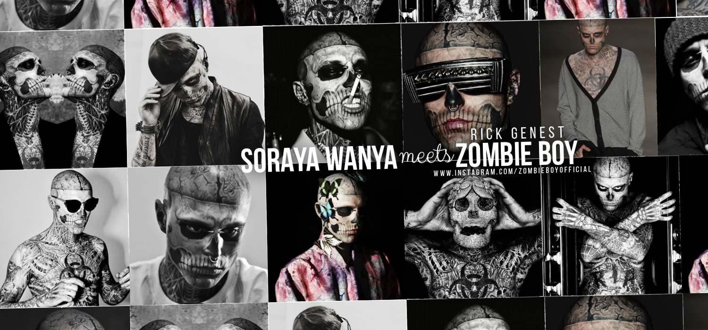 Zombie Boy / Rick Genest im Interview mit Soraya Wanya