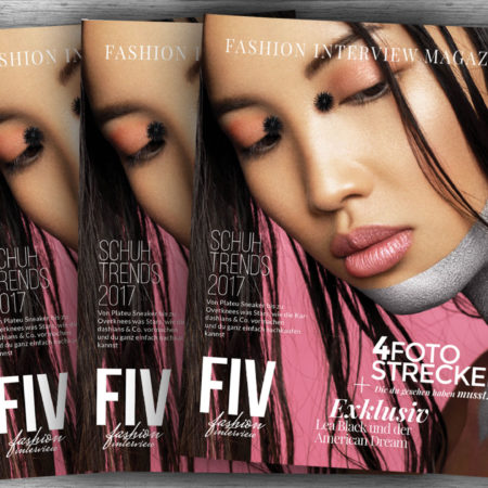 FIV Magazine #2 mit 4 Exklusiven Fotostrecken der Star Fotografen + Germany's Next Influencer Erik Scholz + Kolumne von ivaxbrd