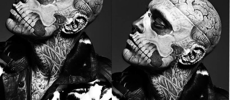 Rick Genest: Der lebende Zombie! Von Montreals Straßen zum Topmodel