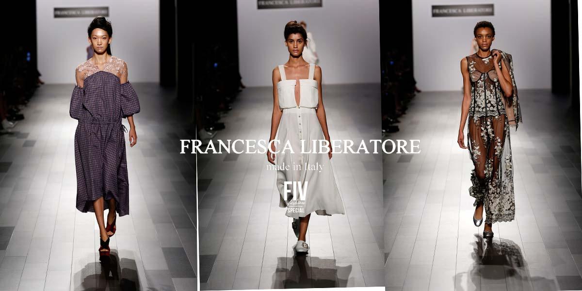 Francesca Liberatore: Beautiful Prints and Dresses NYFW SS18