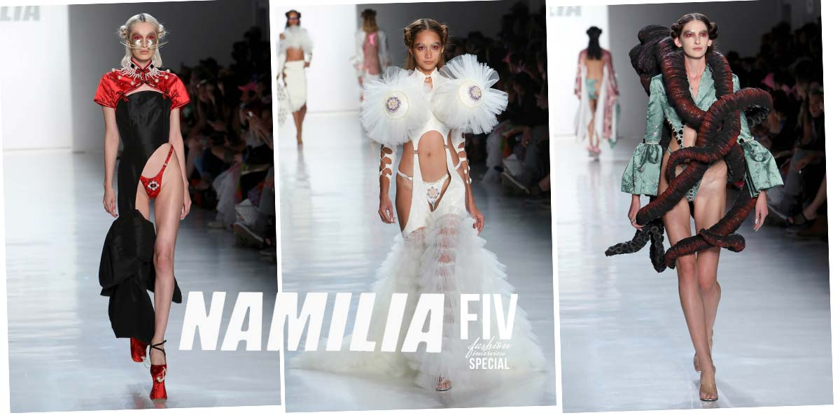 Namilia: High Fashion Runway for SS18