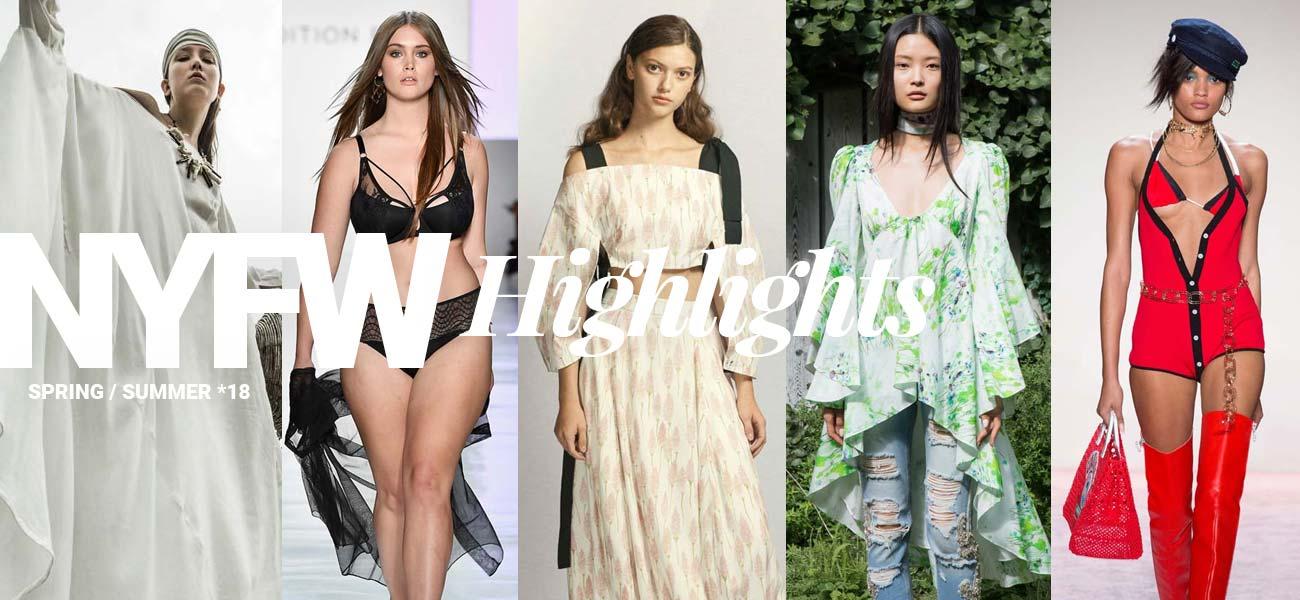 New York Fashion Week Highlights: Trends für Frühjahr / Sommer 2018
