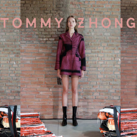 Tommy Zhong: Casual, Classical, Chic Fashion of Fashion Week Milan SS18