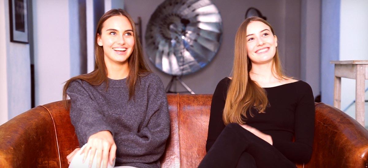 Youtube Q&A mit Cocaine Models Marie & Johanna - Model werden, Jobs und Amerika!