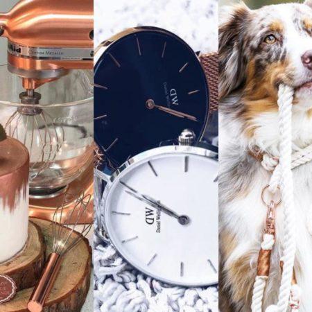 Roségold Trend im Frühling 2018: iPhone, Ketten, Ringe & Uhren Favorites auf Instagram