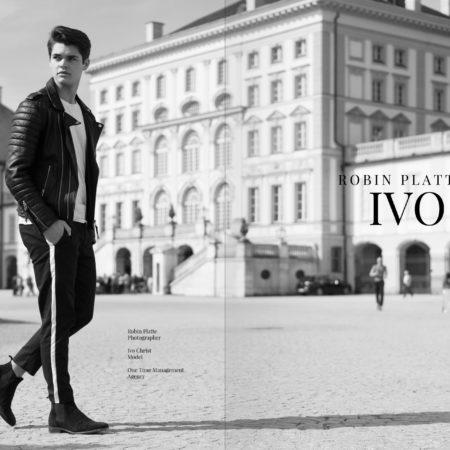 Nachwuchsmodel Ivo Christ & Robin Platte erobern München