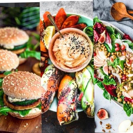 Vegan Essen in London - delicious!