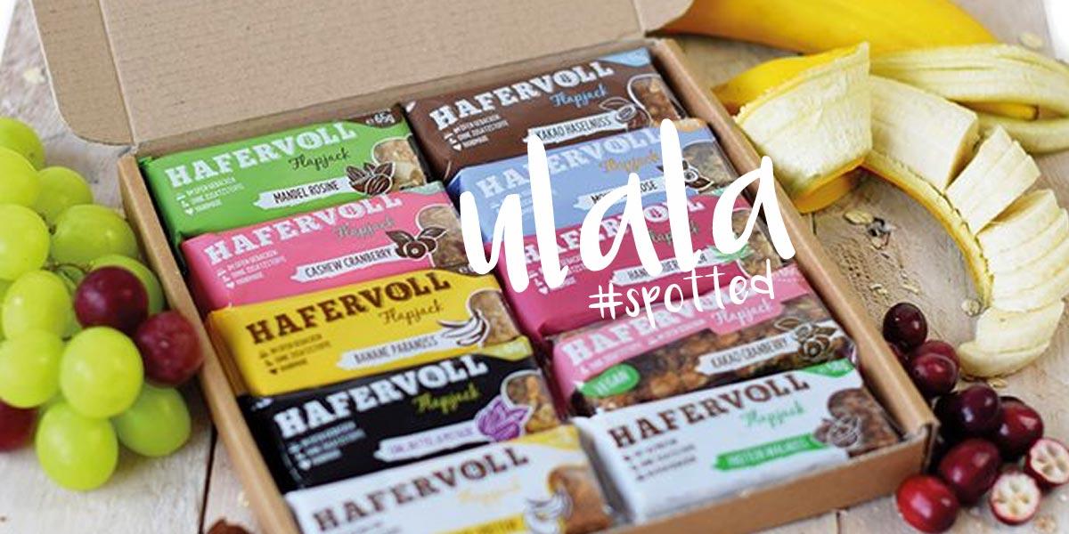 Hafervoll - Snack to go! Müsli für die Hosentasche #spotted im Supermarkt