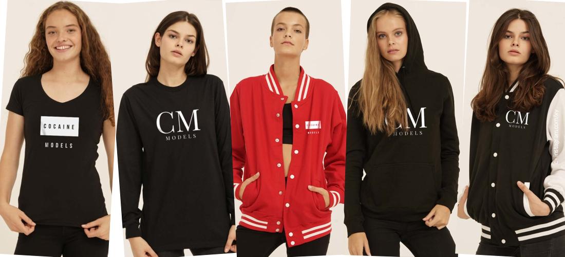 Jetzt neu: Der super coole Merchandise von Cocaine Models