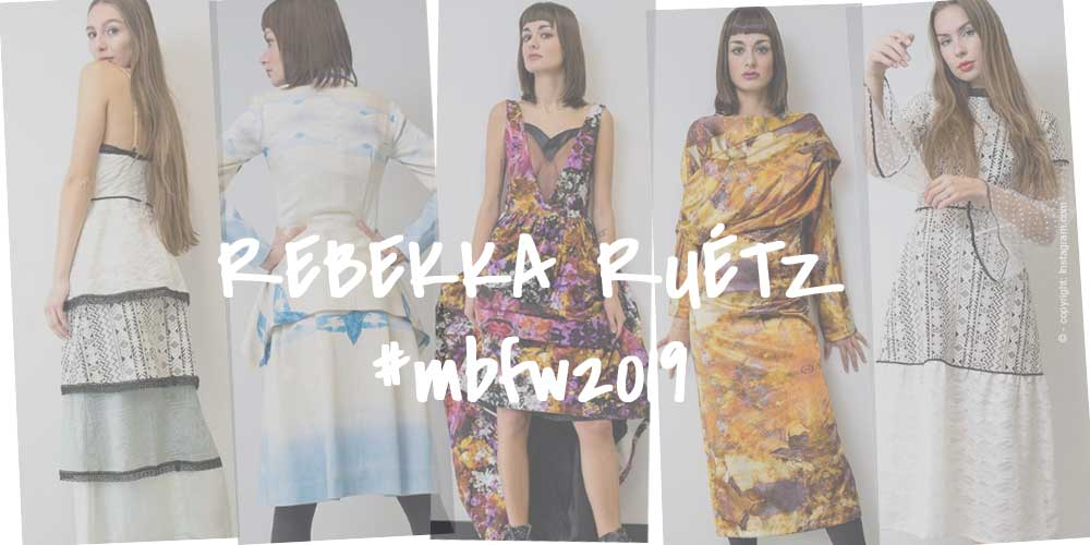 rebekka ruétz - FASHION WEEK BERLIN 2019