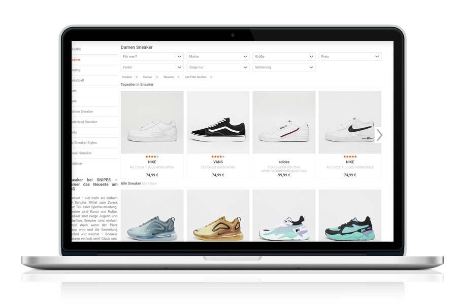 Sneaker Onlineshop die besten Portale zum Schuhe shoppen