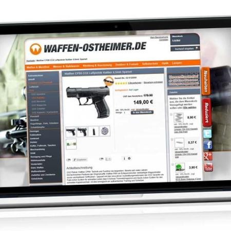 Stärkste & beste CO2 Pistole: Arcus Viper - 34 Joule - FIV