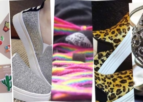 Schuhe selbst gestalten-Einfache DIY's
