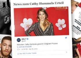 Cathy Hummels gewinnt Prozess in München: Werbung auf Instagram – Urteil