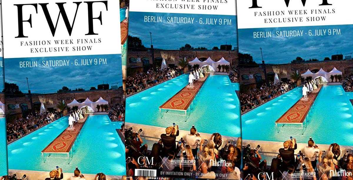 Fashion Week Finals: Show + Magazine Aftershow Party am 06.07. im Haubentaucher