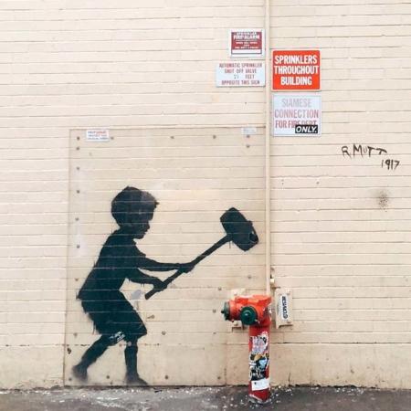 Banksy: Die Ikone unerkannt auf der Biennale in Venedig