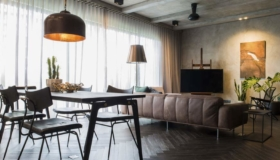 Wohnungseinrichtung verschönern durch Materialen
