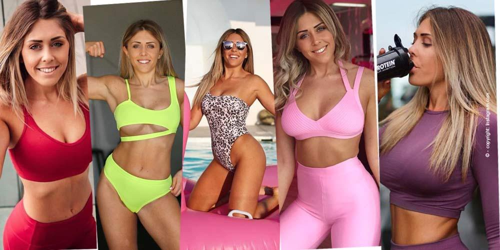 Justine Gallice: Sport & Fitness Influencer - Fitness Coach bei Instagram