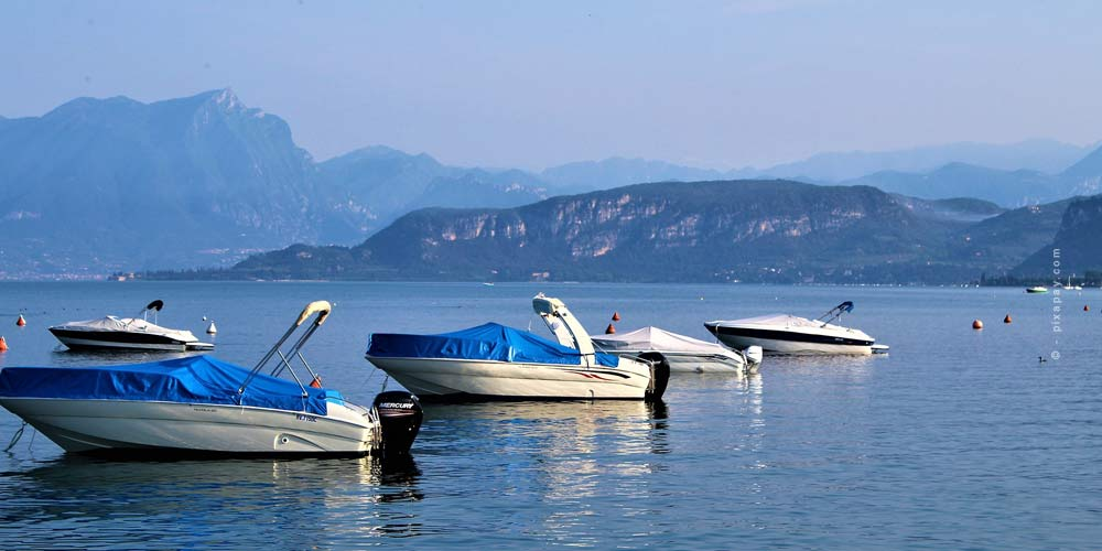 Der größte See Italiens: Gardasee - Camping, Urlaub & Co.