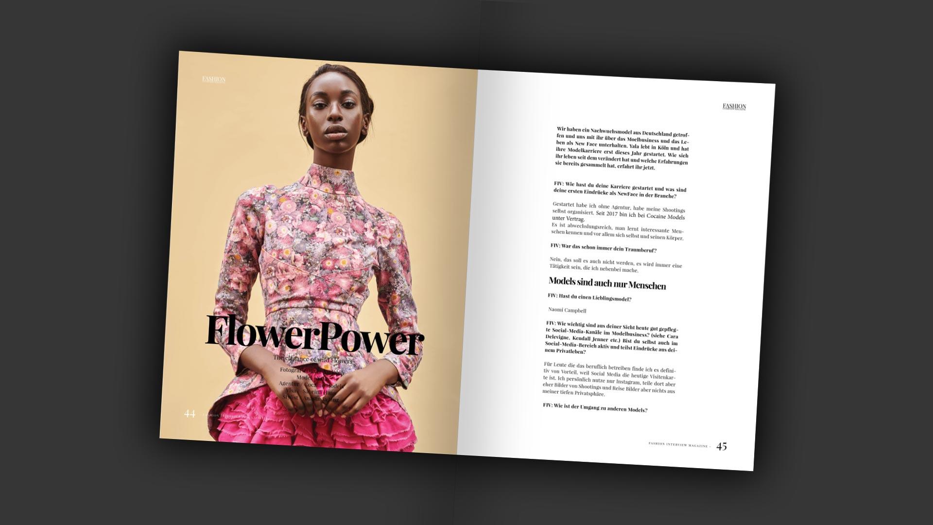 Yala und Oliver Rudolph - Flowerpower + Interview