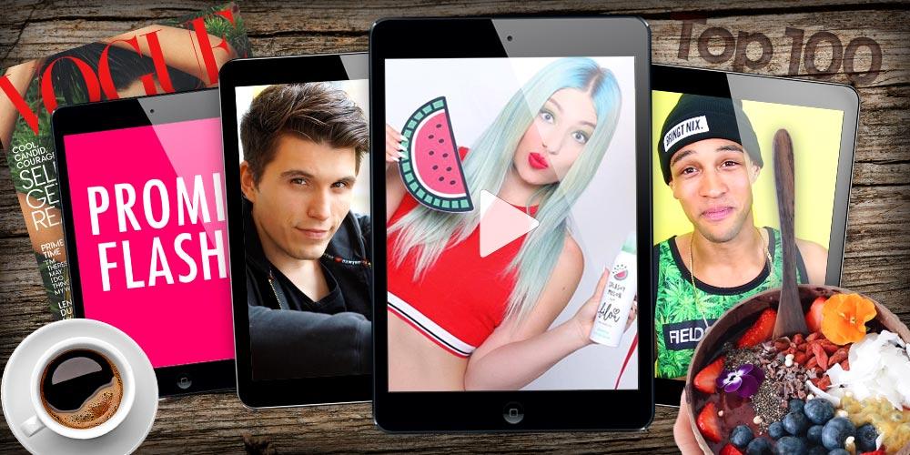 Top 100 Youtuber in Deutschland: Diese Youtube Stars musst du kennen!