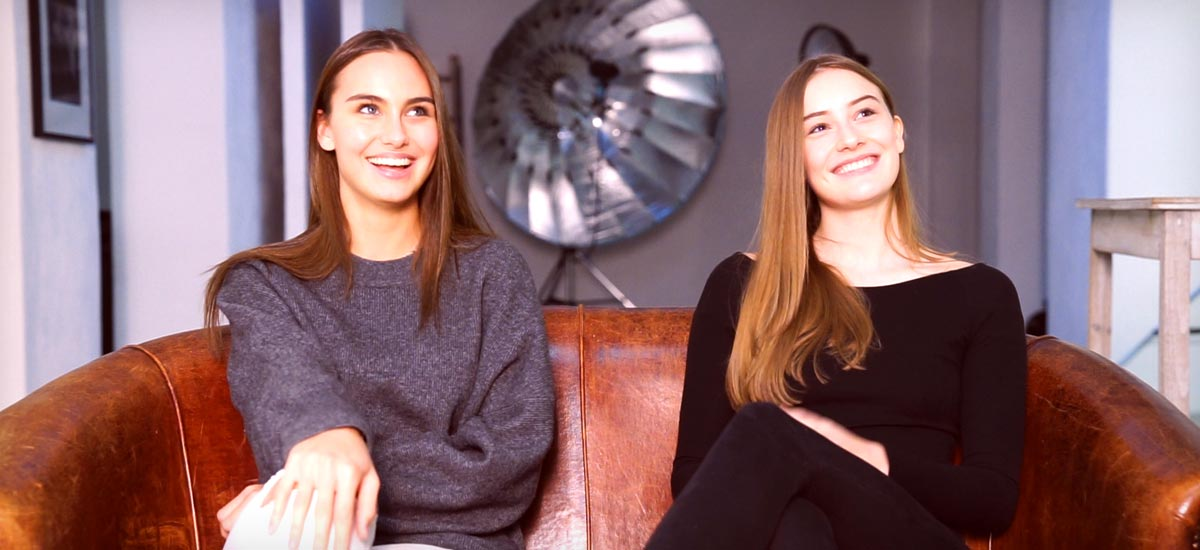 Youtube Q&A mit Cocaine Models Marie & Johanna - Model werden, Jobs und Amerika!
