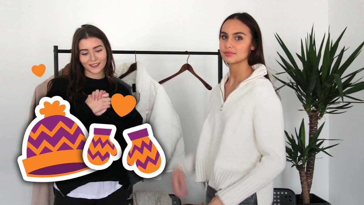 Youtube Interview: Influencerin Iva - Winter Styles und Trends im Check mit Marie!