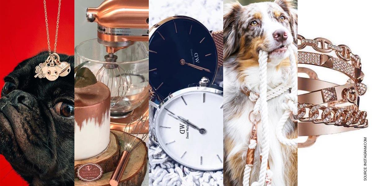 Roségold Trend für den Frühling: iPhone, Ketten, Ringe & Uhren Favorites auf Instagram