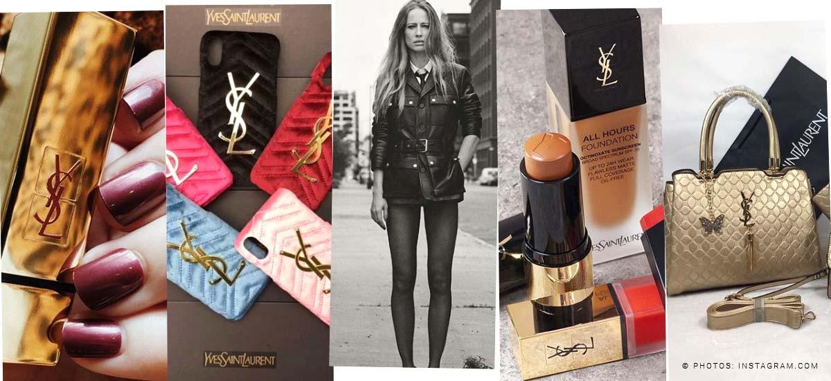 Yves Saint Laurent: Tasche, Lippenstift & Parfüm - Trends auch für Herren