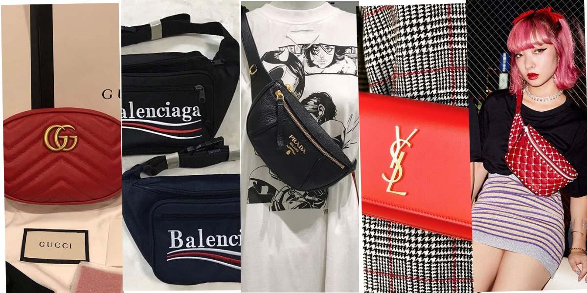 Luxusmarken & Bauchtaschen: Valentino, Miu Miu, Prada & Co.