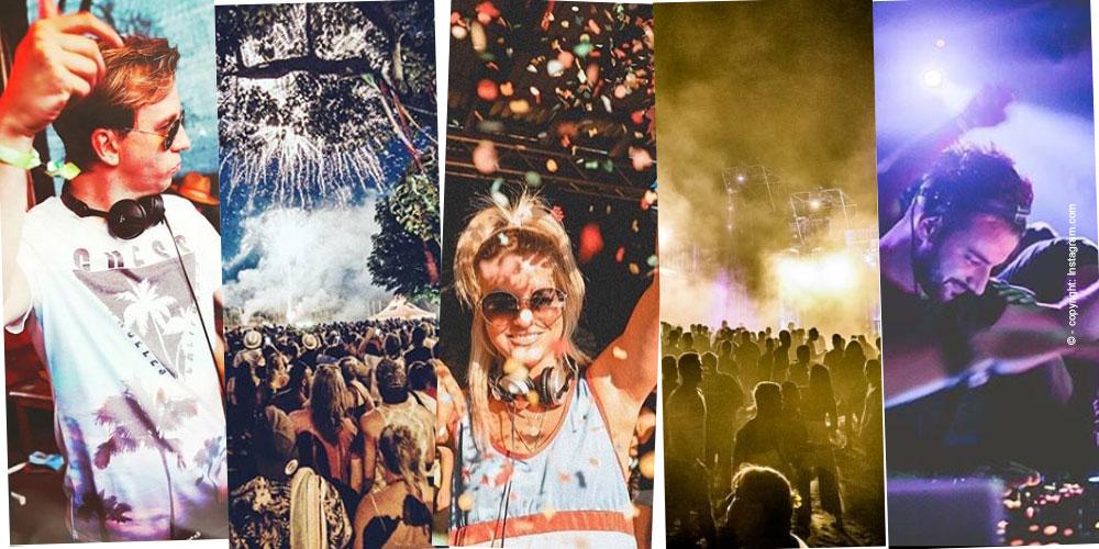 Festival Armbänder: Stoff, Sprüche & Verschluss
