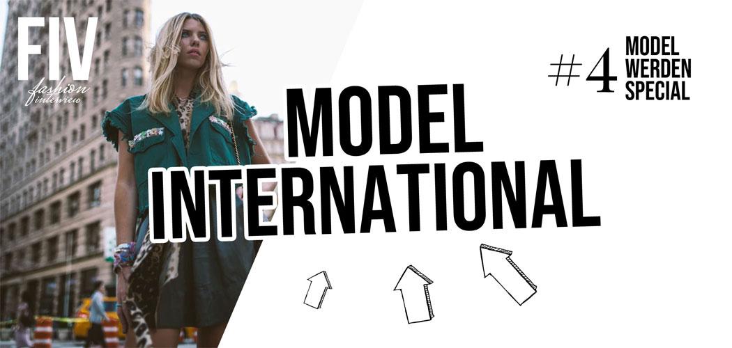International modeln: New York, London, Paris - Model werden Special #4