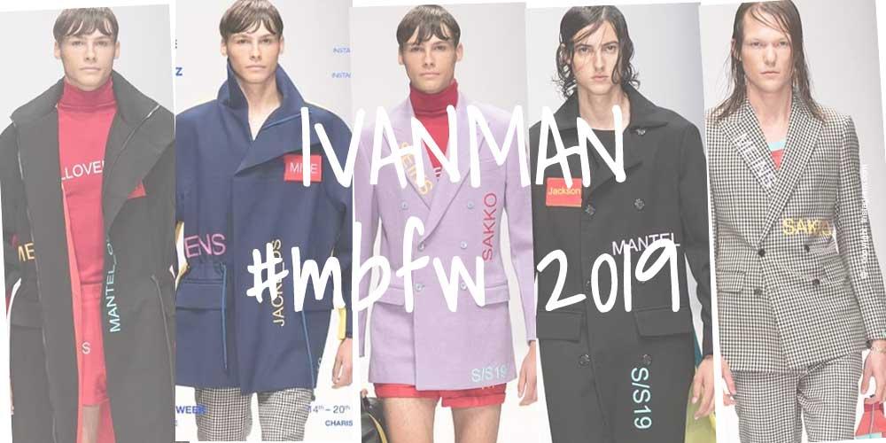 IVANMAN: Männermode aus der Hauptstadt - Fashion Week Berlin