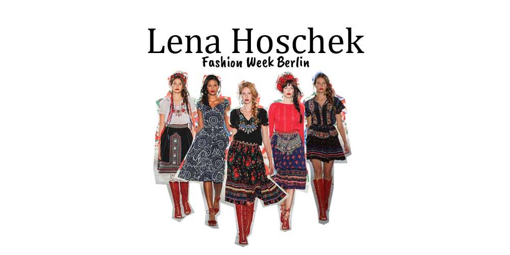 Mode & Schneiderei: Designerin Lena Hoschek - Fashion Week