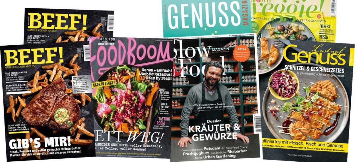 Was heute kochen!? Unsere Top Magazine für Kochen und Backen