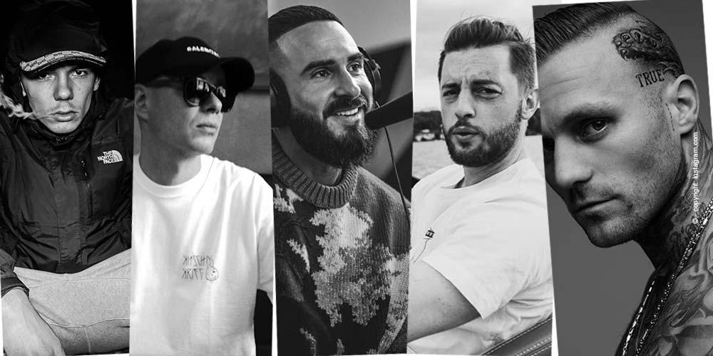 Top 5 Deutschrapper - Angesagte Musik von heute