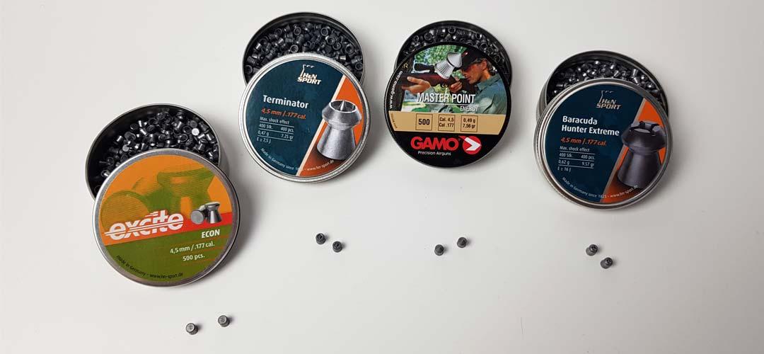 Diabolo vs BB Stahlkugel für CO2 Pistole: Erfahrungen mit Spitzkopf, Hohlspitz, Terminiator & Baracuda