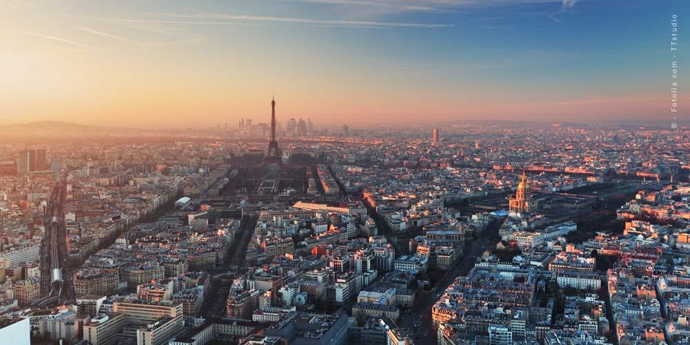 Parisurlaub: Luxushotel & Restaurants in Frankreich