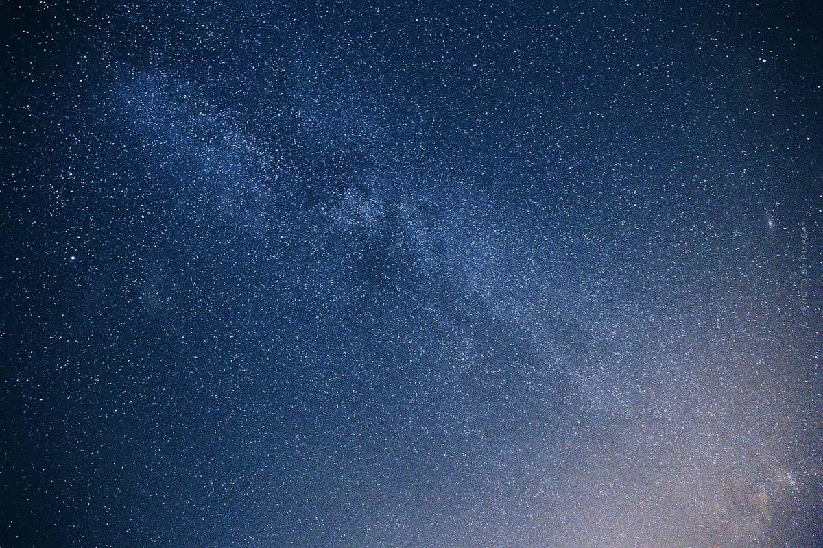Sterne optimal fotografieren: Polarstern und Milchstraße