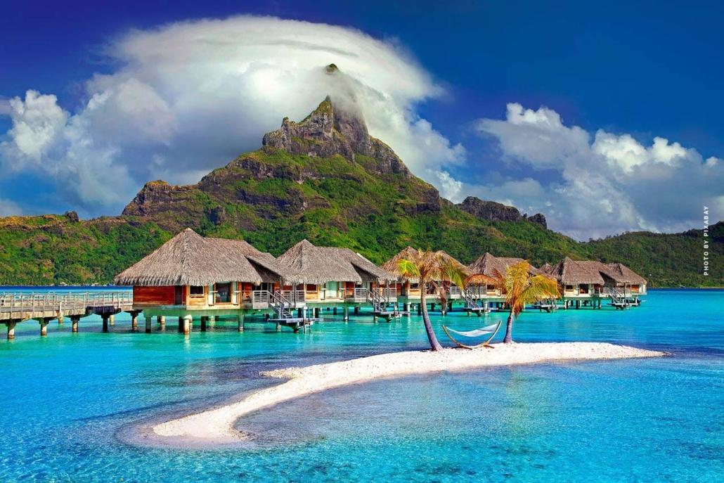 urlaub in der karibik strand meer und natur  die