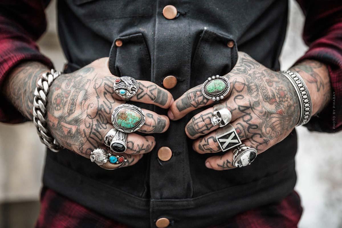 Bad Boy, Jeremy Meeks, Model, Augen, Bad Boy, Ex-Häftling, Tattoos, Hände,