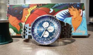 Breitling Navitimer: Fliegeruhr mit besonderem Zifferblatt für Damen und Herren