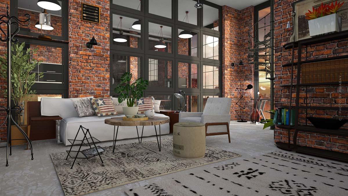 Loft Wohnung: Kaufen, Mieten und Wohnen - wie aus alten Fabriken luxuriöse Wohnungen werden