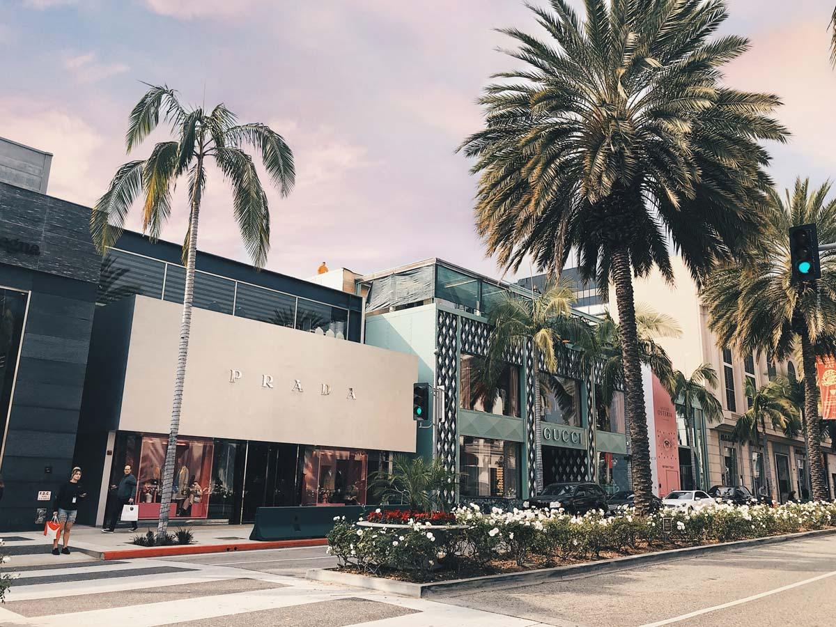 Luxus Shopping Los Angeles (15 Stores): Bulgari, Balmain, Rolex und Co.