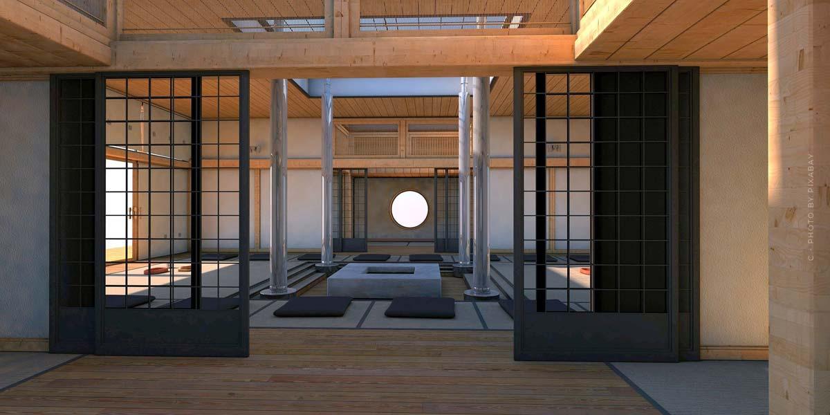 Feng Shui einrichten: Harmonie im Garten, Schlaf- und Wohnzimmer - Gestalte nach den Regeln des Feng Shui
