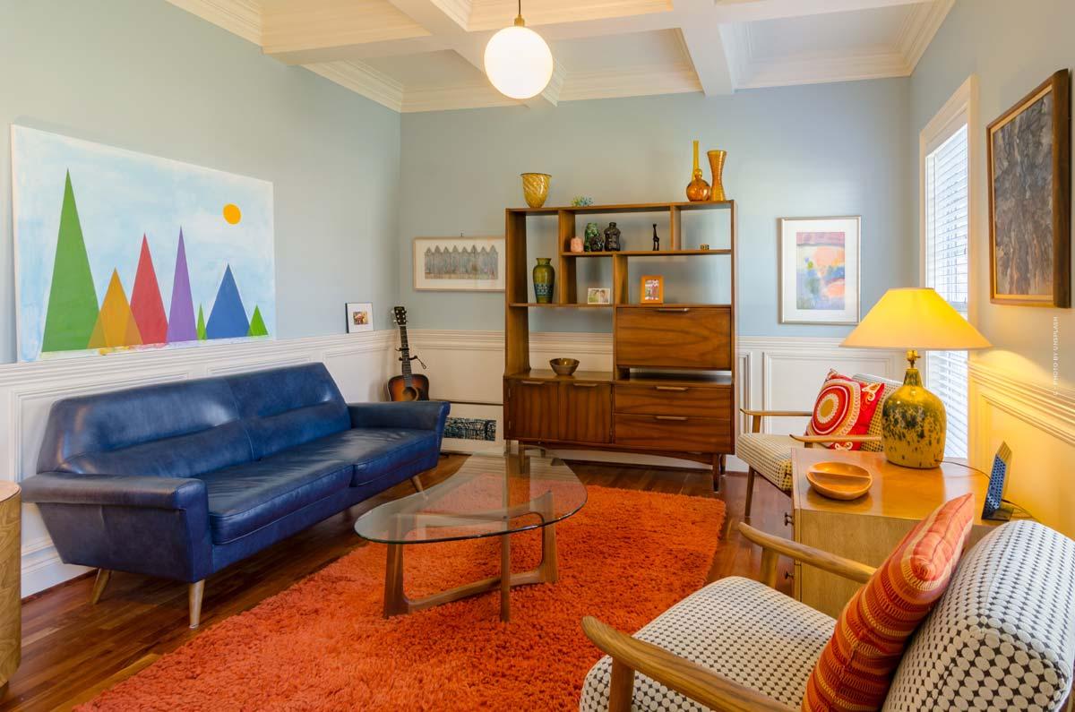 Retro & Vintage Einrichtung: Im 50er, 60er oder 70er-Jahre Stil einrichten mit Möbeln, Lampen und Teppichen
