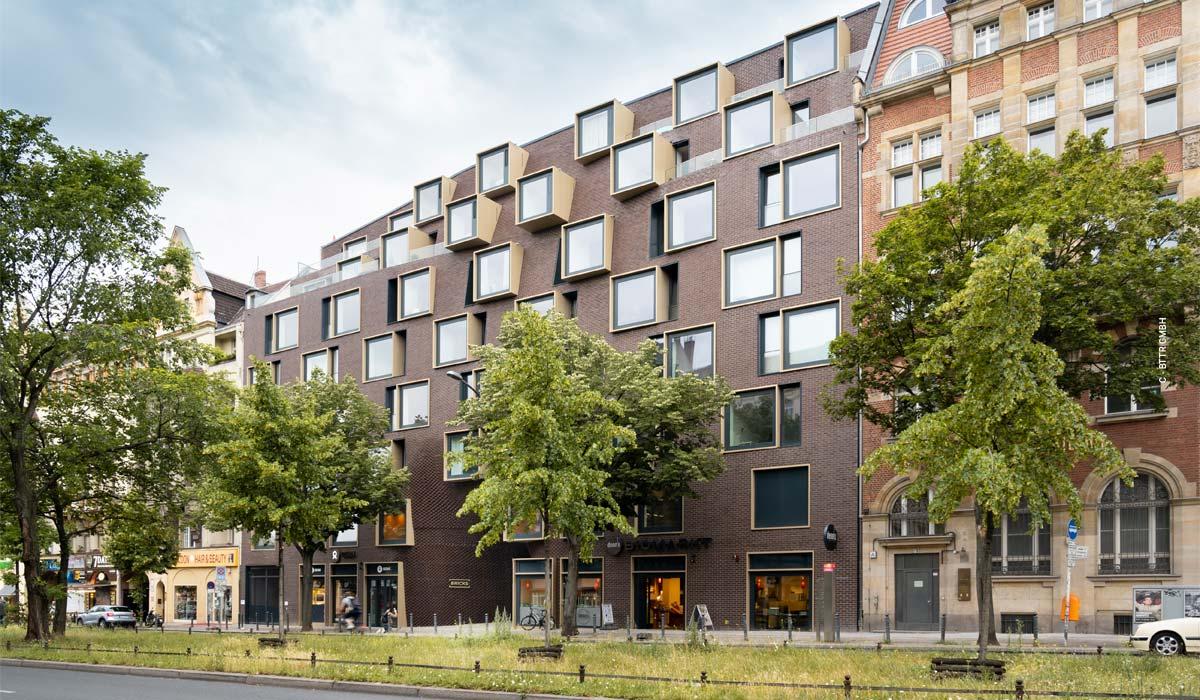 Bricks Schöneberg - Wohn- & Gewerbe-Quartier von Graft Architekten in Berlin Mitte