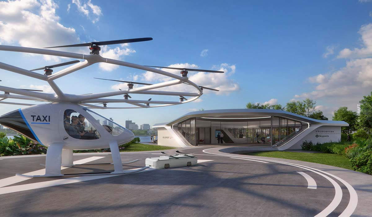 E-Auto Ladestationen und Flugtaxis (Volocopter) - Graft Architekten im Interview (3/3)